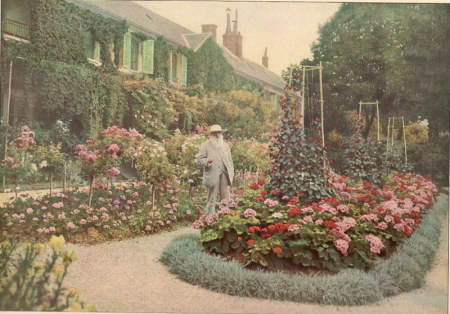 Claude Monet à Giverny, Illustration du 15 janvier 1927