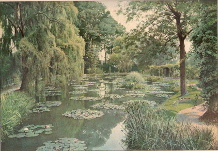 Le jardin de Claude Monet à Giverny, Illustration du 15 janvier 1927
