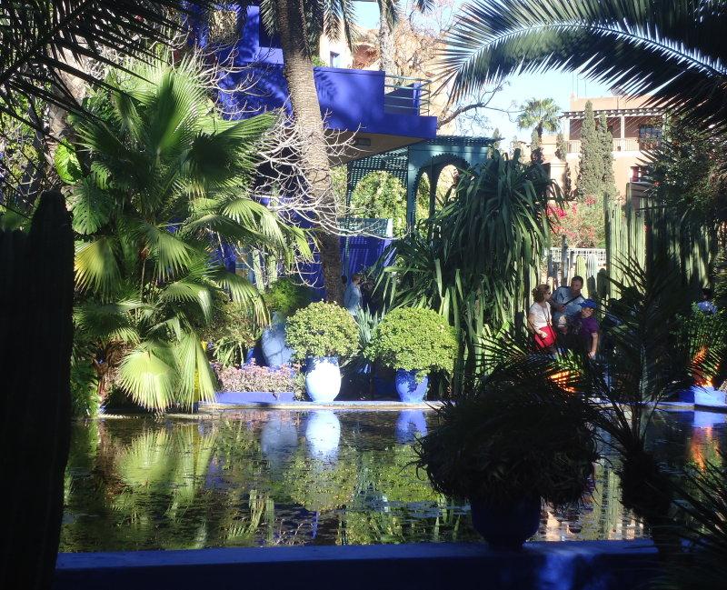 Le jardin majorelle giverny news - Jardin majorelle marrakech photos ...