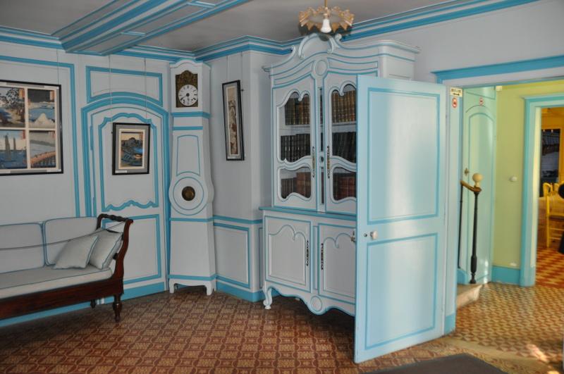 Le salon bleu - Giverny News