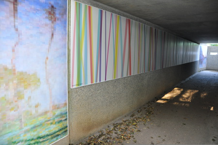 Oeuvres pour le souterrain de Giverny, Michel Debully