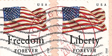 Timbres Freedom for ever, Liberty for ever