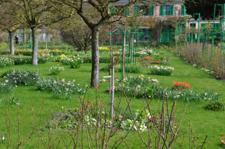Giverny en avril