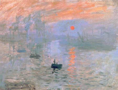 Claude Monet, Impression, soleil levant, 1872, Paris Musée Marmottan-Monet