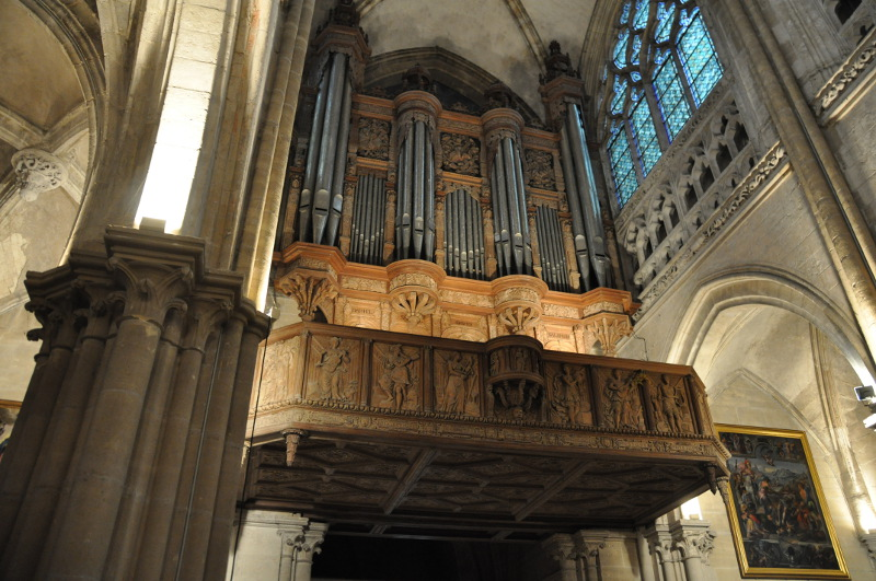 L'orgue de Notre-Dame du Grand-Andely
