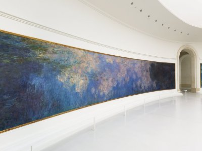 The Water Lilies cycle, Claude Monet, The Orangerie Museum, Paris