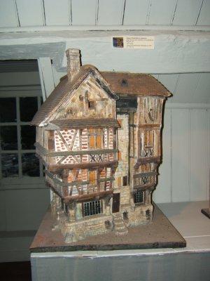 Miniatures de maisons normandes giverny news for Maison miniature en bois