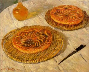 Les Galettes, Claude Monet, 1882, 65 x 81 cm, collection particulière - Analyse, description, explication.