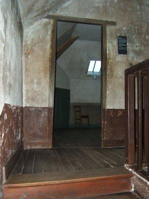 La chambre de Vincent van Gogh à l'auberge Ravoux à Auvers sur Oise