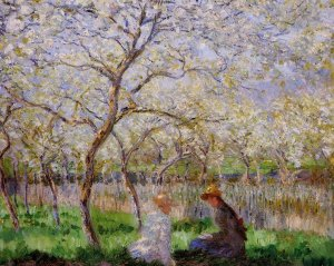 Le Printemps, Claude Monet, 1886, Fitzwilliam Museum, Cambridge, Royaume-Uni