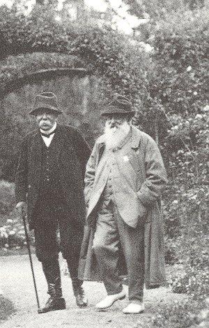 Georges Clemenceau et Claude Monet à Giverny