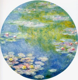 Nymphéas, Claude Monet 1908, 81 cm, Dallas Museum of Arts