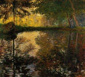 L'étang à Montgeron, Claude Monet