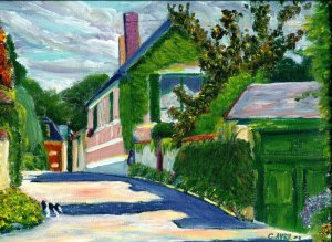 Rue Claude Monet, Christian Avril