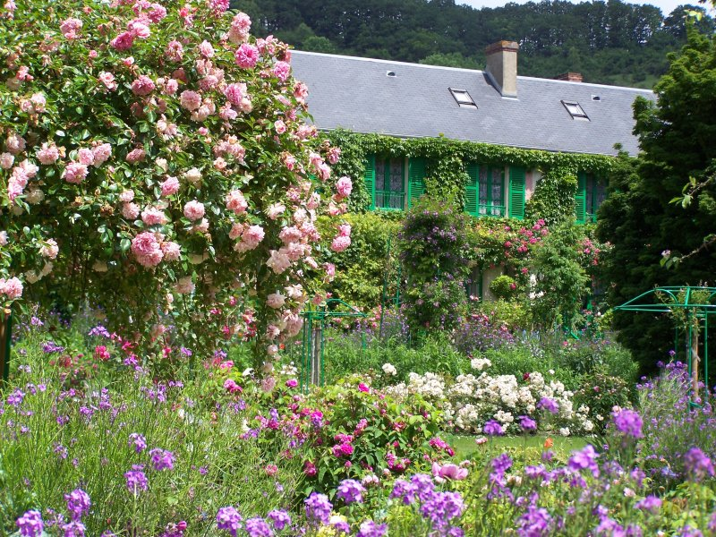Jardin de roses giverny news for Jardin giverny