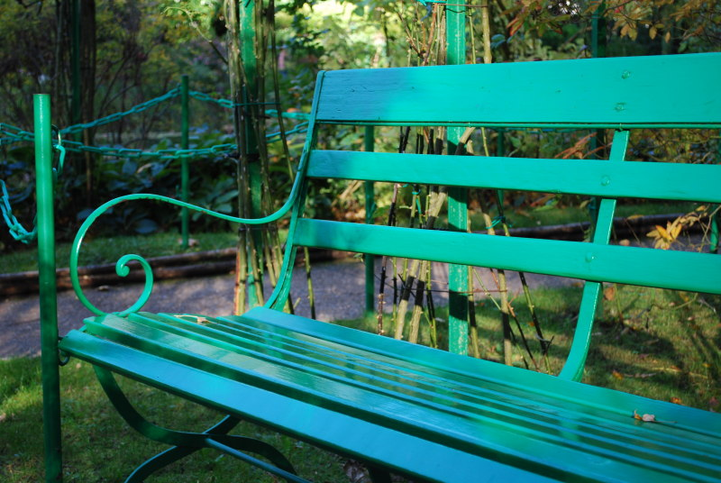 Banc de jardin archives giverny news for Banc de jardin anglais