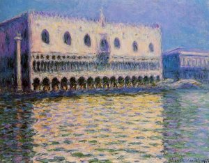Le Palais Ducal, Claude Monet 1908, The Brooklyn Museum