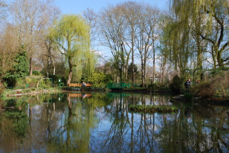 Giverny, 1er avril