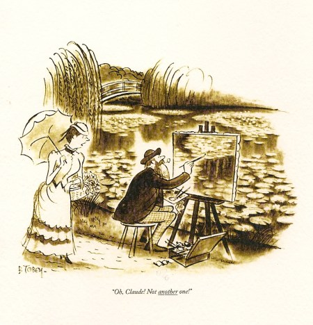 Cartoon Claude Monet