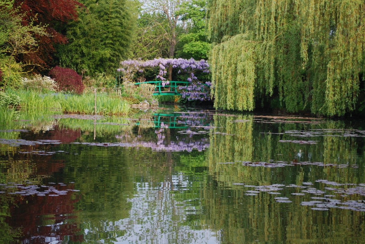 Pont japonais archives giverny news for Jardin giverny