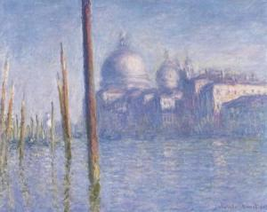 Venise, Le Grand Canal, Claude MONET 1908 Fine Arts Museum, San Francisco, California, USA