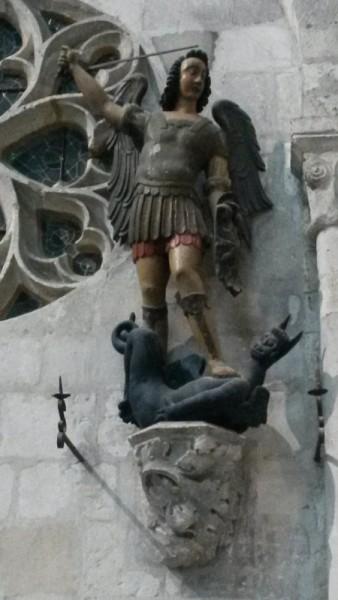 Saint Michel, église saint-Taurin d'Evreux