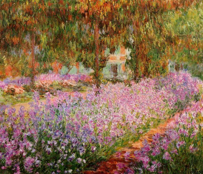 Claude Monet, la Grande allée, Giverny, Orsay
