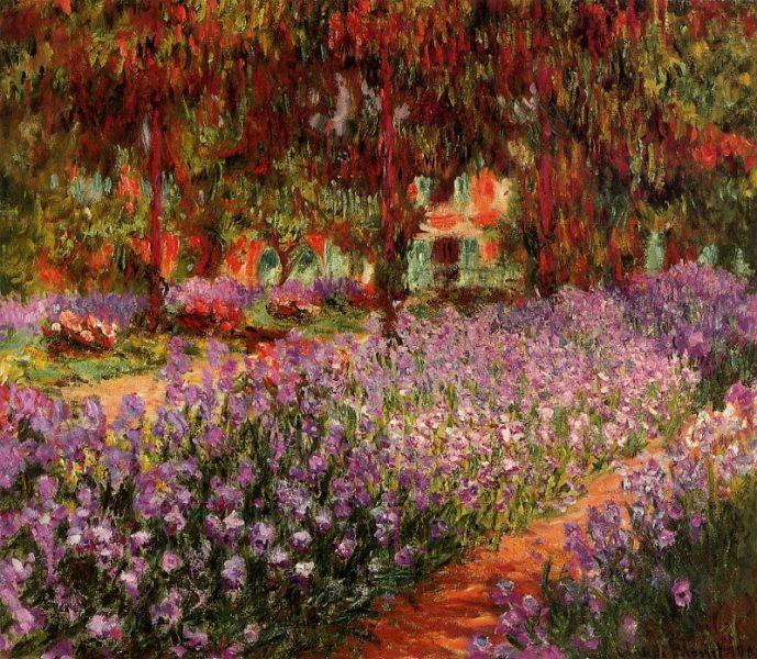 Claude Monet, la Grande allée, Giverny