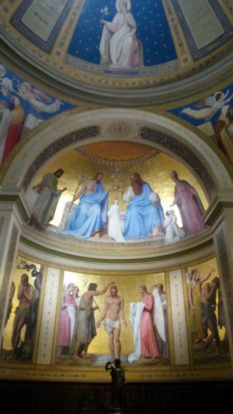 chapelle des baptêmes de Notre-Dame-de-Lorette, Paris