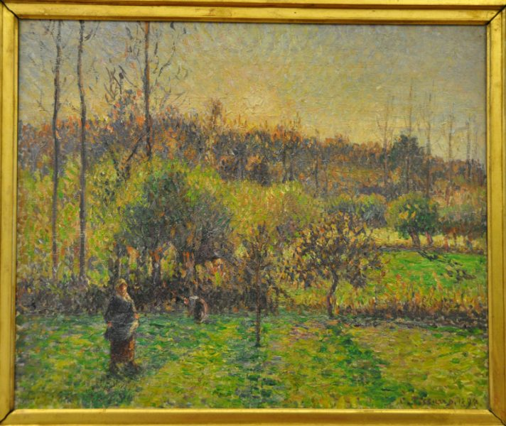 Camille Pissarro, Lever de Soleil à Eragny, Musée Malraux, Le Havre