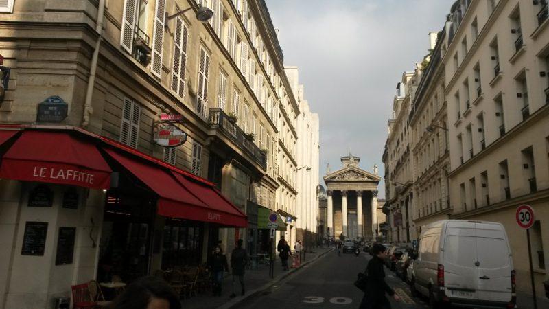 rue Lafitte à Paris