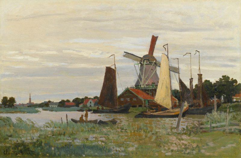 Zaandam par Monet