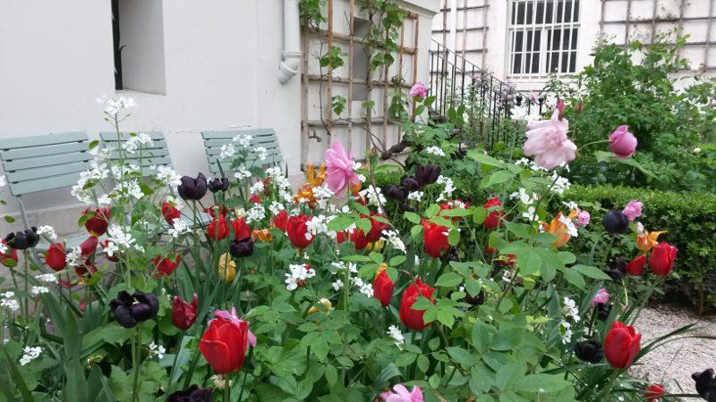 Le jardin de Delacroix