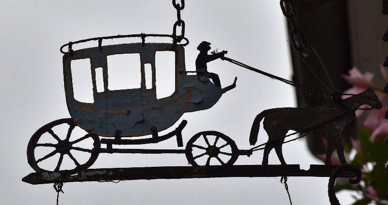 La Poste aux chevaux à Vernon