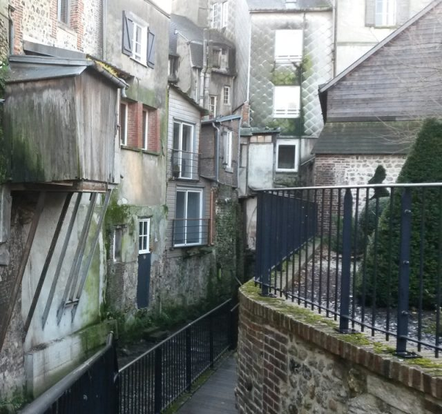 Honfleur - la Claire et le jardin du Tripot