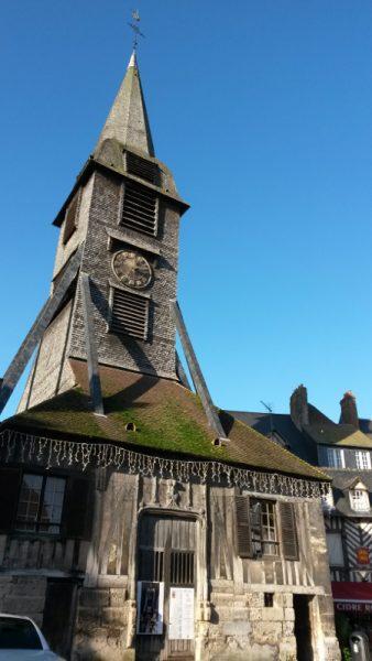 Honfleur - Clocher de l'église Sainte-Catherine
