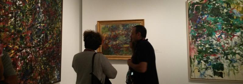 Le dernier Monet et l'abstraction américaine