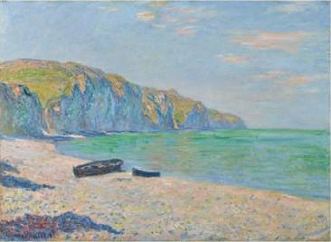 Plage et falaise à Pourville