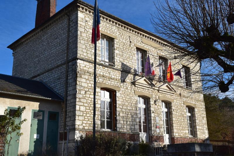 La mairie de Giverny