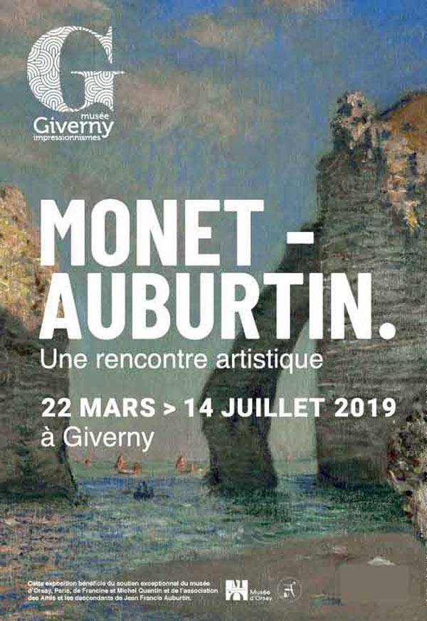 Jean Francis Auburtin versus Claude Monet