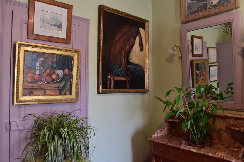 Monet fan de Cézanne