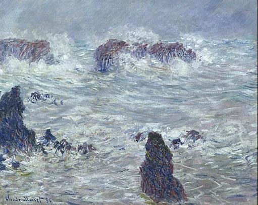 Monet à Belle-Ile-en-Mer