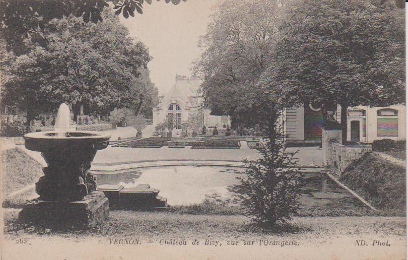Les fontaines de Bizy