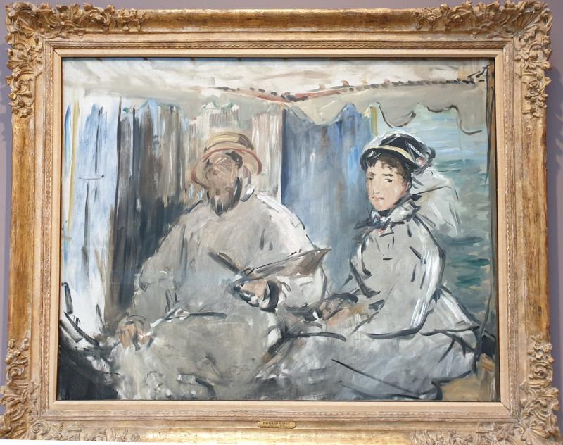 Monet par Manet
