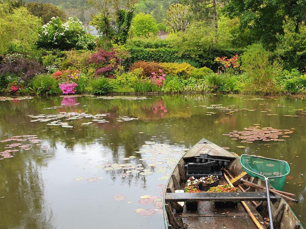 Jardinage en bateau